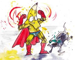 pencil-men and his trusty pet sidekick sharpendog by GLoeNn