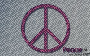 Pink Peace by Peace4all
