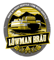 Lowman Brau label by chibighibli