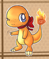 Cayenne the Charmander by FuwaKiwi