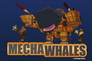 Mechawhales Title Logo by hauke3000