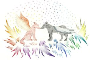 Wolves by Saphirylis