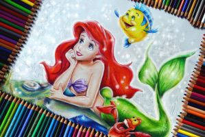 The Little Mermaid - WIP by Alena-Koshkar