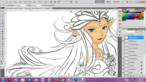 Fairy Queen Contest WIP 1 by Anisa-Mazaki