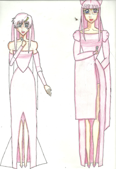 Itiki and Lacus by creationstar