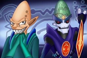 Then and Now, Dr Nefarious by dragonfire1000
