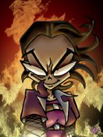 KAD s ON FIRE by Candys-Killer