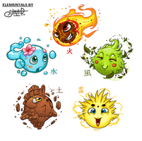 Elementals by Heri-Shinato