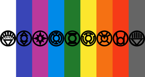 9 Lantern Corps Wallpaper 1 by mr-droy