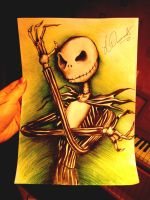 Jack Skellington by lauriloos95