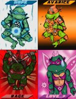 Teenage Mutant Ninja Lanterns by RoccoBertucci