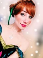 Frozen Anna Cosplay by Sina-Rose