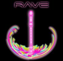 Rave - Poster Pink 2 by Magic92