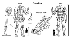 Gearbox Character Sheet by Laserbot