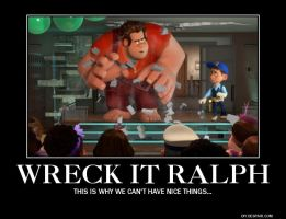 Wreck It Ralph Demo. pic by aquawarrior123