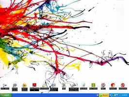 Spilt Paint On My Desktop by shiroi-tategami