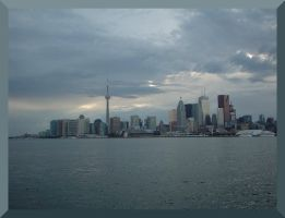 Twighlight Toronto Waterfront by Aswang301