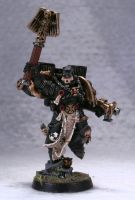 Dark Angels Chaplain with Jump pack by Elmo9141