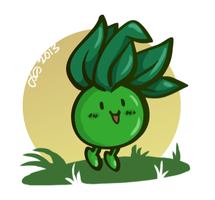 shiny oddish by ojwo