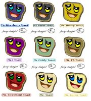 Mr. Toasts-Collection1 by faery-dustgirl