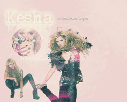 Kesha Wallpaper 1 by GiraffeAndy