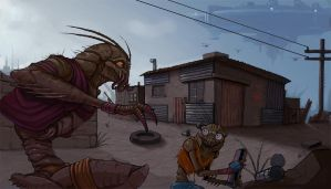 District 9 by Teratophile