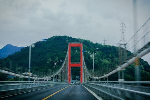 Namhae Island bridge by BFGL