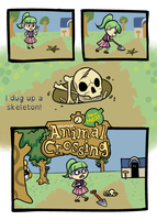 Animal Crossing: New Meat by RoochArffer