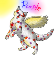 .:62/Pc:. Purple flys to the sun by MichelleTheCat