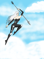 Sky Skeleton by InTheDeepEnd