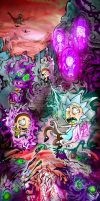 The Rickturn of Evil Morty by themachinistfactory