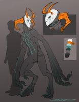 Masked monster [auction CLOSED] by Aivomata
