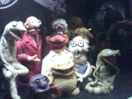 Henson - Sam and Friends Cast by nichan