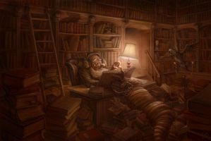 Bookworm by Plan-BE