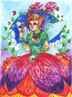 Butterfly fairy by Nuran-Cawthorne
