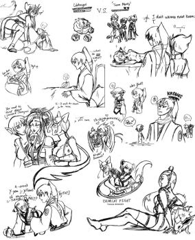 Sketch Dump 4 by HoiGao