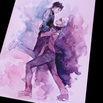Yuri on Ice by SallyGipsyPunk