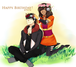 Flower Crowns - Happy Birthday! by IceValaxy