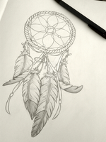 Dreamcatcher Sketch by Shanrocket