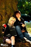 Death Note ~ Light and Misa by guilty-crown-inori