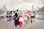 Sailor Moon - The Power of Friendship by vaxzone