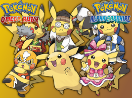 Cosplay Pikachu Wallpaper by fakemon123