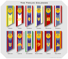 Colonial Flags by BJ-O23