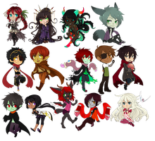 CMChibi batch 3 by CookieHana