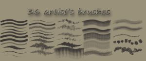 36 Brushes by DeepBlueDesign