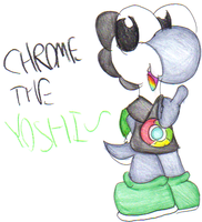 Chrome The Yoshi. :GA: by Blackbirdo29