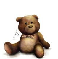 Teddy Bear by JazzSiyArt