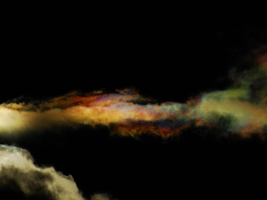 Cloud iridescence -2- by IoannisCleary