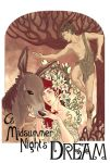 a midsummer night's dream poster by PoEvil