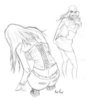 martina in a s corset see by southpawdragon